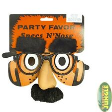 FUNNY NOVELTY GLASSES SPECS GROUCHO NOSE  MOUSTACHE - fancy dress accessory