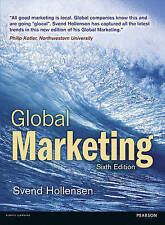 Global Marketing by Svend Hollensen (Paperback, Sixth Edition)
