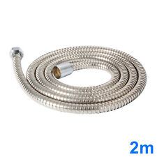 6.56ft Extra Long Stainless Steel Flexible Shower Head Hose Bathroom Pipe HS511
