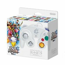 New Nintendo Game Cube Controller Wii Smash Bros. White Japan