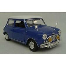 Motor Max Mini Cooper Blue (Die-cast - 1:18 Scale)