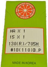Orange Sewing Machine Needle Size 18, HOBP-110