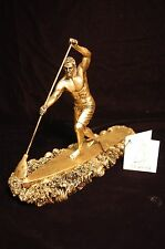 Awesome 5 Inch SUP Surf Racer with Paddle Figurine Paddleboard Trophy Award NEW!