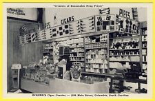 cpa U.S.A. SOUTH CAROLINA COLUMBIA ECKERD'S CIGAR DRUG Commerce BUREAU de TABAC