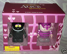 Disney Vinylmation Alice in Wonderland CHESHIRE CAT 2-Figure Combo Pack NEW OOP
