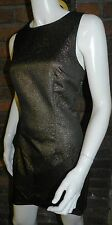 Portmans gold fitted sheath dress structured formal party races cup size 10