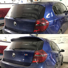 BMW 1er e87 e81 Aerodynamic Spoiler rear door roof tailgate trunk M Performance