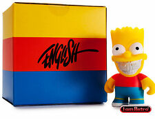 Bart Grin by Ron English - The Simpsons x Kidrobot 3 inch Mini Figure Brand New