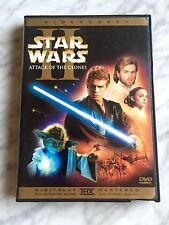 Star Wars Episode 2 Attack of the Clones Widescreen DVD 2 Disc Ltd Insert card