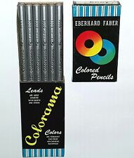 EBERHARD FABER SILVER PENCILS 12 BOX VINTAGE Metallic Art Lead blackwing mongol