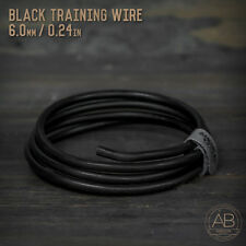 American Bonsai Black Aluminum Training Wire - 6.0mm - 100 grams - 4ft - 100g