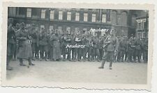 Foto Belgien -Lüttich-Soldaten-Kfz 2.WK (e102)