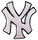 New York Yankees Logo MLB Baseball embroidered iron-on patch. 3 x 3 inch (i138)