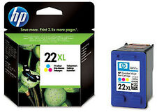 Genuine HP 22XL Tri Colour Ink Cartridge C9352CE DESKJET F2100 F2200 F2280 F2180