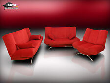 HIT! MODERN SOFA BED SET SPRINGS INSIDE! EVERYDAY SOFA BED! 'INCA LUX 3-2-1 SET'