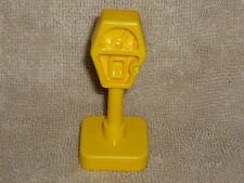 Fisher Price Little People Vintage Yellow Car Parking Meter