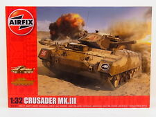 Lot 31961 | Airfix a08360 Crusader Mk. III British Army 1:32 kit nuevo en OVP