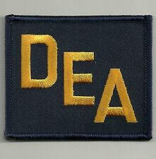 DEA - Drug Enforcement Administration  (DROGEN) Polizei Abzeichen Patch FEDERAL