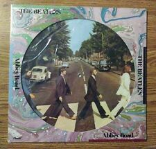 """factory sealed The Beatles """"Abbey Road"""" picture disc LP record U.S. 1978 MINT"""
