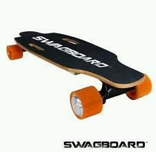 Swagtron Electric Skateboard longboard Bluetooth Remote & Maple Deck Swagboard