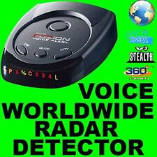 VOICE CAR RADAR/LASER/CAMERA/GATSO DETECTOR WORLDWIDE