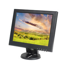 Portable 12inch TFT LCD Digital Monitor AV/VGA/TV/HDMI For Desktop Computer Hot