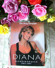 Princess Diana Remembered Many Photographs HC Book From England HTF