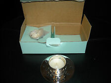 NIB PARTYLITE GLOWING STAR GIFT SET #P7613 WITH 2 TEALIGHTS