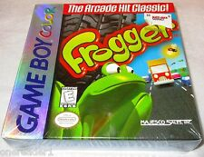 NEW GAME BOY COLOR FROGGER Arcade Game - Majesco Sales Inc  FACTORY SEALED