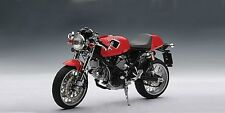 AUTOART 1/12 Ducati Sport 1000 Diecast Cafe Racer Motorcycle - Red #12551