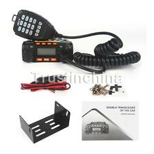 QYT KT-8900 Mini Dual Band 136-174/400-480Mhz Car Mobile Radio 25W Transceiver