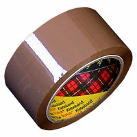 TAPE Brown HIGH QUALITY Rolls 3M Scotch PARCEL Packaging 48mm X 66m