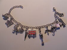 Pulsera Londres Big ben Charms Bracelet England London Travel