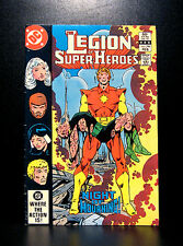 COMICS: DC: Legion of Super-Heroes #296 (1980s), 1st Queeg app - RARE (flash)
