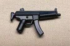 x1 NEW Brickarms MP5 Gun For Army Guys WORKS with LEGO MINIFIGS