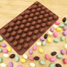 55 Mini Coffee Bean Silicone Mould Cake Chocolate Candy DIY Bead Baking Mold