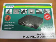 Digitus DS-40130 Multimedia VGA/Audio zu HDMI Converter Notebook ,ähnliche an TV