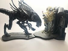 ALIEN QUEEN Deluxe Playset 2005 McFarlane Toys Movie Maniacs 6 Loose Complete