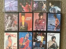 12 PRINCE  CONCERT DVDS COLLECTION CONCERT MUSIC VIDEOS LIVE Dvds pop