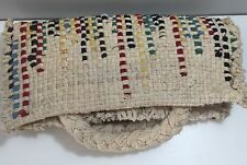 Boho Chic Woven Handbag Clutch - Ivory, Red, Blue, Green,Yellow Urban Outfitters