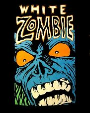 WHITE ZOMBIE cd lgo BLUE MONSTER GROWL Official SHIRT LRG New rob zombie