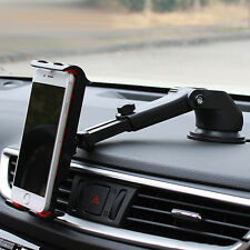 360° Adjustable Long Arm Rod Car Windshield Suction Cup Holder Mount for iphone