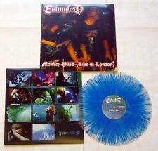 "Entombed ""Monkey Puss - Live In London"" Clear / Blue Splatter Vinyl - NEW"