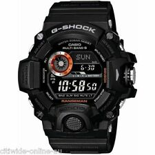 Casio G-SHOCK GW-9400BJ-1JF Master of G RANGEMAN Triple Sensor Black Watch