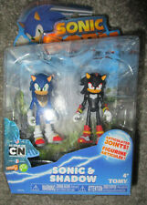 "SONIC BOOM SONIC & SHADOW FIGURE SET 3""  Sonic The Hedgehog 2-pack RARE"