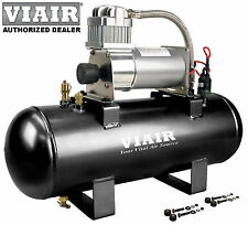 VIAIR 20005 280c 12v AIR COMPRESSOR 150psi KIT Plug-N-Play EZ Install Horn Tools
