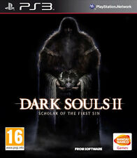 Dark Souls II 2 Scholar Of The First Sin & Slipcase PS3 * NEW SEALED PAL *