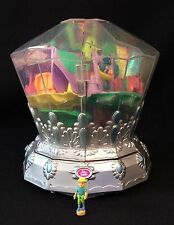Polly Pocket Mini ��  2001 Diamond Wonderland - Jewel Fairies light Fee Diamant