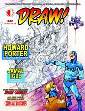 Draw! #32 Howard Porter Jamal Ingle Ordway on Sketch Covers TwoMorrows 2016