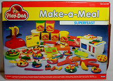 KENNER PLAY DOH VTG 80's THE ORIGINAL SUPERFEAST MAKE A MEAL SET NEW MIP RARE